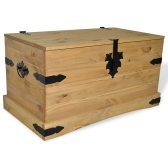 Storage Chest Mexican Pine Corona Range 91x49,5x47 cm