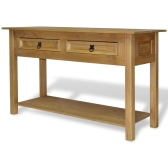 Console Table Mexican Pine Corona Range 90x34,5x73 cm