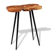 Log Bar Tavolo in legno massello di acacia 90x60x110 cm