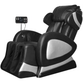 Electric Massage Chair with Super Screen Black Synthetic Leather