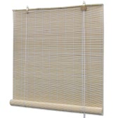 Natural Bamboo Roller Blind 80 x 160 cm