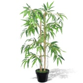 "Planta de bambú artificial ""Twiggy"" Pot con 90 cm"