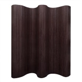 Room Divider Bamboo Dark Brown