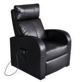 Черный Искусственная кожа Электрический стул массажа