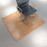 Tappeto per sedia / Tappeto di protezione per pavimenti Bamboo Natural 90x120 cm