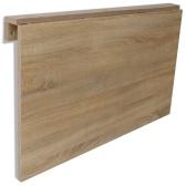 Tavolo da muro pieghevole in rovere 100 x 60 cm