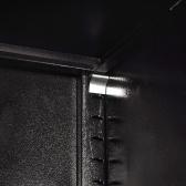 """Armário de ferramentas com 2 portas Aço 35.4 """"x15.7"""" x70.9 """"Preto e vermelho"""
