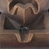 Крытый фонтан со светодиодной подсветкой в Полиресине