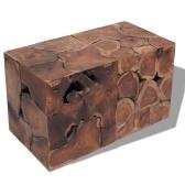 Taboret / Stolik kawowy Solid Wood Tek 2szt