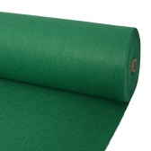 Carpet for exhibition 2 x 12 m green