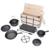 Dutch Oven Set 9pcs