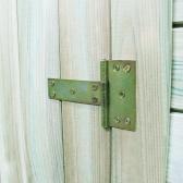Jardim galpão de madeira de pinho impregnado 200 x 100 x 210 cm