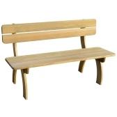 скамейка деревянная садовая, пропитанный сосна