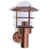 Exterior wall light Stainless steel Copper