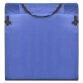 Beach Mat pieghevole con schienale 2 pezzi blu