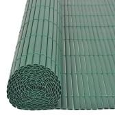 両面庭フェンス195x500 cm緑