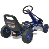 Pedal Kart with Blue Adjustable Seat