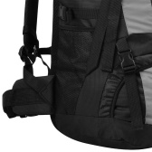 Hiking backpack with rain cover XXL 75 L Black