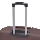 3-pc. Soft luggage trolley set coffee brown