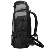 Hiking backpack with rain cover XXL 75L Black