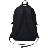 Black 40 L school backpack and camouflage