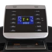 Elektrisches Laufband 144x56cm mit LCD-Display 1-20 km / h 4 PS
