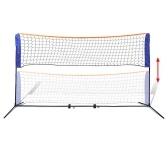 Badmintonnetz Set mit Schwungrädern 300x155 cm