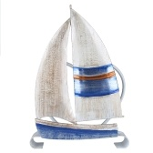 Tooarts Barco à Vela Titular Guardanapo Titular Guardanapo de Ferro Ornamento Criativo Hotel Papel Caso Cozinha Titular Papel Decoração de mesa e Acabamento