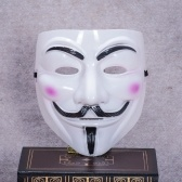 The whole network explosion models Halloween horror movie theme V vendetta mask