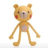 Tooarts | Bambola dell'orso di yoga Forma di animale Giocattolo Comfort ed empatia Oggetto Ornamento infantile Coltiva l'immaginazione Materiale di cotone di qualità
