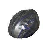 Cubierta del casco a prueba de polvo a prueba de lluvia del cuerpo de la bicicleta