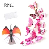 24pcs Multicolor Double Layer Wings