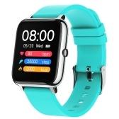 1,4-дюймовый цветной экран IPS с полным сенсорным экраном Смарт-браслет Пульсометр Артериальное давление Кислород в крови Мониторинг здоровья Фитнес-трекер IP67 Водонепроницаемые часы BT Смарт-часы для мужчин и женщин, совместимые с Android / iOS