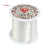 透明釣り糸ナイロン手織りクリスタルビーズ