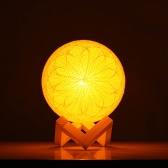 Chambre à coucher crépuscule créative économiseur d'énergie lumière de nuit réglable moderne pastoral romantique anniversaire cadeau lin lampe de table jaune lumière blanche