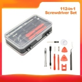 112-in-1 Screwdriver Set with Carrying Case Professional Screwdriver Repair Tool for Mobile Phone Tablet PC and More