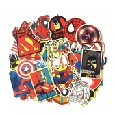 50 Pcs Animated Cartoon Stickers