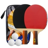 Table Tennis Ball and Bat Set