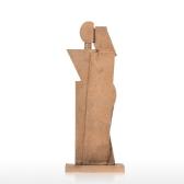 Abrazo creativo decoración del hogar Textura de piedra arenisca Sentimiento artesanía Resumen Escultura de personaje Muebles de sala de estar