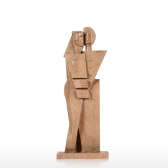 Hug Creative Home Decoration Sandstone Texture Feeling Crafts Abstract Character Sculpture Living Room Furnishings