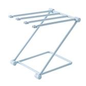 Standing Towel Rack Space Saving Kitchen Towel & Hand Towel Rack Holds Towels & Cups for Kitchens Canteen Restaurant Bar