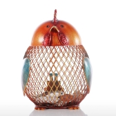 Tooarts Piggy Bank Metal Craft Animal Figurine Home Decor Gift