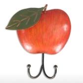 Apples Wall Hook Iron Decorative Wall Hook Rustic Decorative Hanging Hooks Hat Keys Indoor Hanger