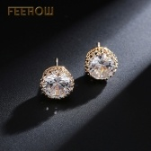 FEEHOW Korean version of the elegant earrings