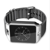 DZ09 relógio inteligente relógio de relógio Bluetooth relógio de esportes passo relógio fábrica desgaste inteligente posicionamento chamada versão estrangeira Preto