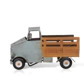 TOOARTS botellero camioneta estante del vino del metal escultura Práctico de decoración escultura de decoración del hogar interior manualidades