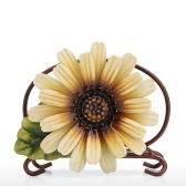 Tooarts Daisy Napkin Holder Creative Iron Napkin Holder Modern Art Ornament Pastoral Style Hotel Paper Case Home Decor Kitchen Paper Holder