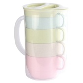 5 Pcs Cups Pitcher Set
