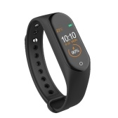 M4 New Smart Bracelet Life Waterproof Line Charge - Black