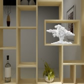 Cloud 3D Printed Sculpture Home Decoration Original Design Tomfeel​​
